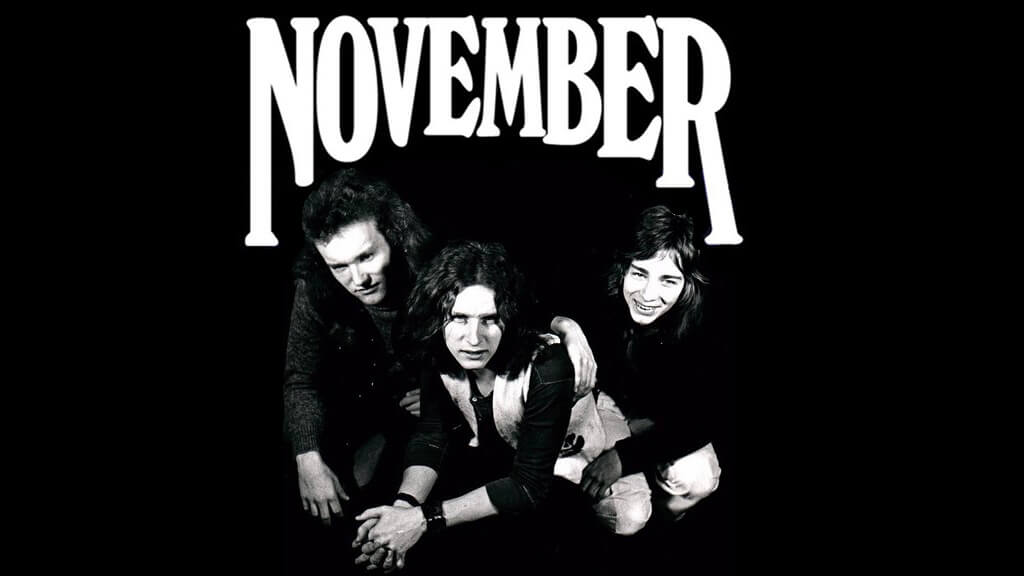 November – Lika Tidiga Som Black Sabbath