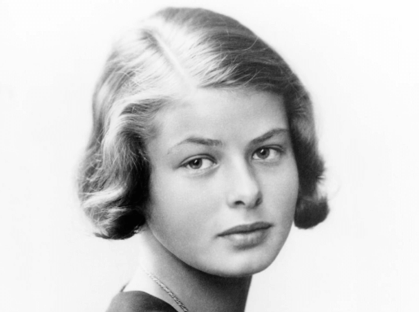 Foto på Ingrid Bergman från Wikipedia commons